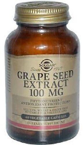 Solgar Grapeseed Extract (30 Vegetable Capsules)