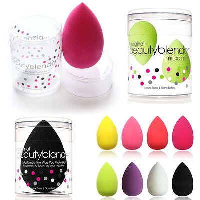 UK HOT BEAUTY BLENDER REAL Flawless Foundation Makeup Puff Powder Sponge + BOX %