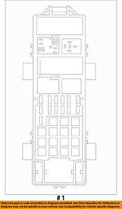 jeep chrysler oem 2007 wrangler 3 8l v6 fuse box fuse. Black Bedroom Furniture Sets. Home Design Ideas