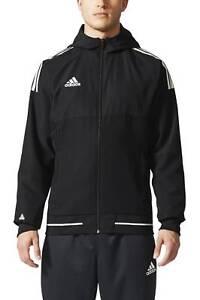 Giacca tempo il uomo Sport Giacca da per da Sport Performance calcio Adidas libero nera 1AFqr1