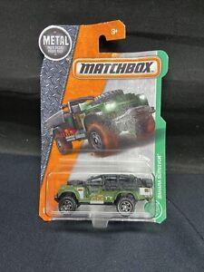 Jurassic World Matchbox Sahara Survivor loose 1//64