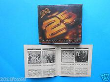 rare box 2 cds pooh 25 la nostra storia 2 cd 1990 facchinetti d'orazio canzian f