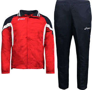 Details about Asics Tuta Fashion Mens Full Tracksuit Jacket Pants Set Europe T653Z5.2650 P6F