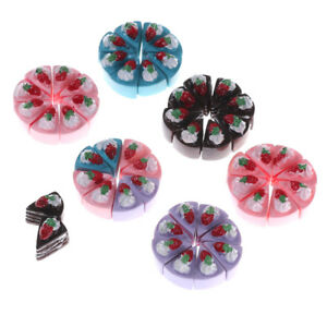 10PCS-DIY-Miniature-Artificial-Fake-Food-Cake-Resin-Decorative-Dollhouse-TOY-2Y