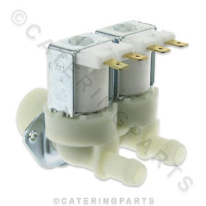 UNIVERSAL-3-4-034-BSP-WATER-INLET-DUAL-DOUBLE-TWIN-OULTET-SOLENOID-VALVE-230v