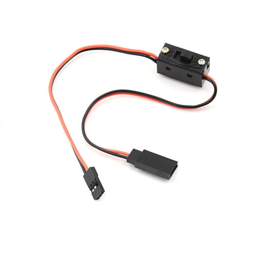 RC Switch Receiver Battery On//Off With JR Lead Connectors new TO