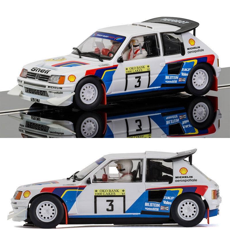 SCALEXTRIC Slot Car C3751 Peugeot 205 T16