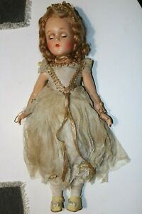 Vintage-Madame-Alexander-18-034-Fairy-Queen-Composition-Doll-original-outfit