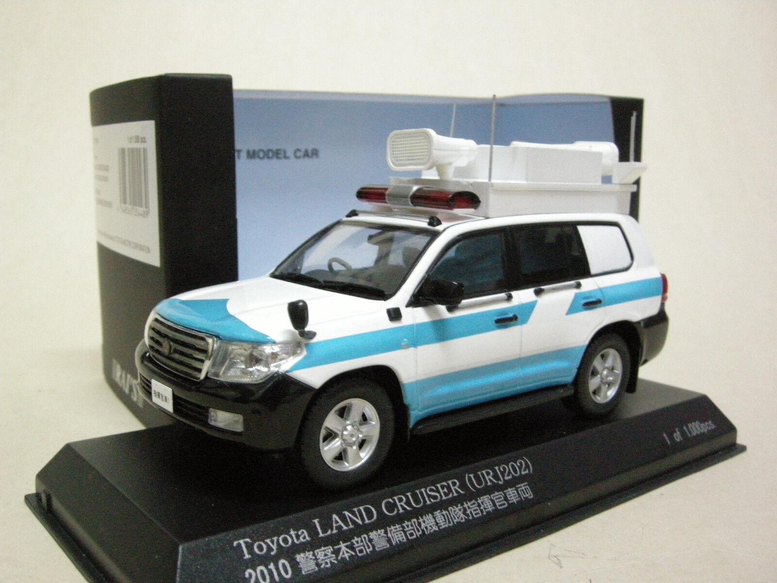KYOSHO RAI'S TOYOTA LAND CRUISER URJ202 LEXUS LX570 Riot Police Command 1 43
