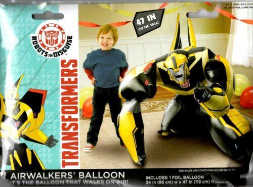 Transformer Bumblebee Airwalker Birthday Party Jumbo Balloon Decoration Prop