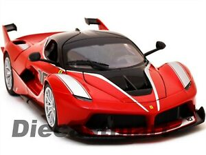 FERRARI-FXX-K-RED-1-18-DIECAST-CAR-MODEL-BY-BBURAGO-18-16010-NEW-RELEASE-2016