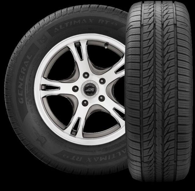 Local Pickup 100h Tire General Altimax Rt43 225 60r18 1x Ebay