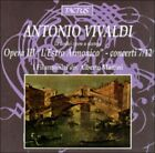 """Antonio Vivaldi: Opera III """"L'Estro Armonico"""" - Concerti 7-12 (CD, Jan-1996, Tactus)"""