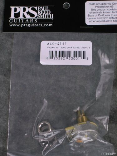 PRS Volume Pot 500k /& Cap Guitar Part Custom CE S2 Paul Reed Smith ACC-4111