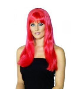 Mystique-Rouge-Vampire-Wig-Long-Red-Halloween-Fancy-Dress-UK