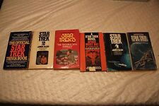 Vintage Star Trek Book Collection Lot of  6