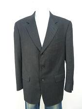 CORNELIANI Giacca Taglia 98/grigio con gessato & con cashmere (K 1970)