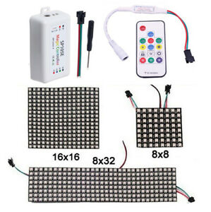 WS2812B-RGB-Flexible-LED-Panel-Matrix-Programmable-Display-Screen-Controller