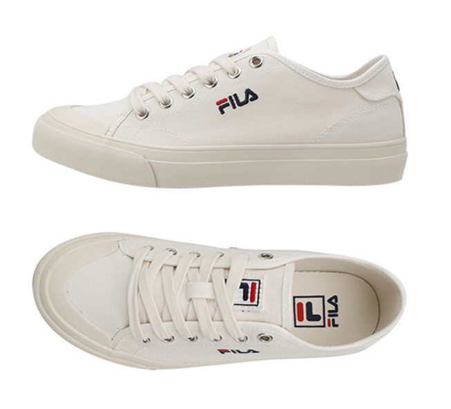 New FILA Classic Kicks Sneakers Athletic  chaussures  Pure Beige Homme FS1SIA1020X-BEG