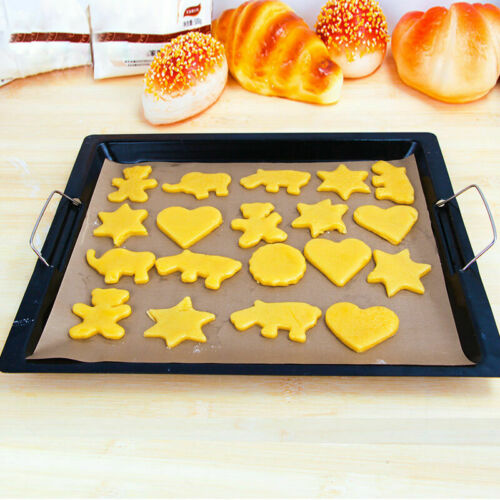 30*40cm Greaseproof Silicon Cooking Oven Bakeware Baking Y1R4 Sheet n Mat X3Q1