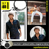 Billy Currington Keychain + Button Or Magnet Or Mirror Summer Forever Tour 1533
