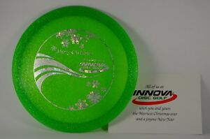 Leopard-Champion-164g-Metal-Flake-Christmas-2011-New-Innova-PRIME-Disc-Golf-Rare