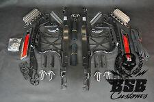 VALIGIA set di montaggio Harley Davidson Touring 14 15 MANIGLIE flange pannelli FAIRING