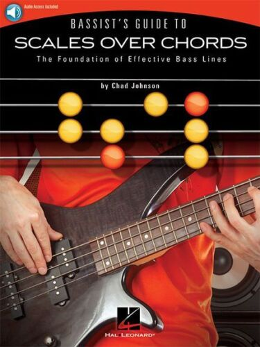 Bassists Guide To Scales Over Chords Learn to Play BASS Music Book Online Audio