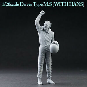 """Model Factory Hiro 1/20 """"Dive Nine"""" Figure Series - Driver Type M.S with Hands"""