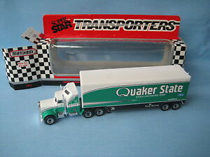 Matchbox-Convoy-CY-104-Kenworth-Quaker-State-Oil-Racing-Truck-Toy-Model