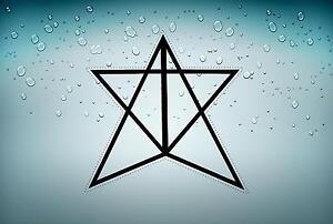 Sticker icelandic magical staves symbol viking odin runic car Vatnahlífir r2
