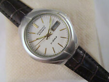 Rare Vintage GIORDANO White Dial 21 Jewels Automatic D&D Swiss Made #02