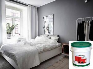 Pitture Per Interni Grigio : Pittura lavabile colorata per interni supercolor oikos lt