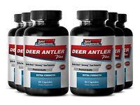 Elk Velvet Extract - Deer Antler Plus 550mg - Immune System Support Capsules 6b