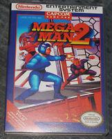 Mega Man 2 - Nes Reproduction Art Case/box No Game.