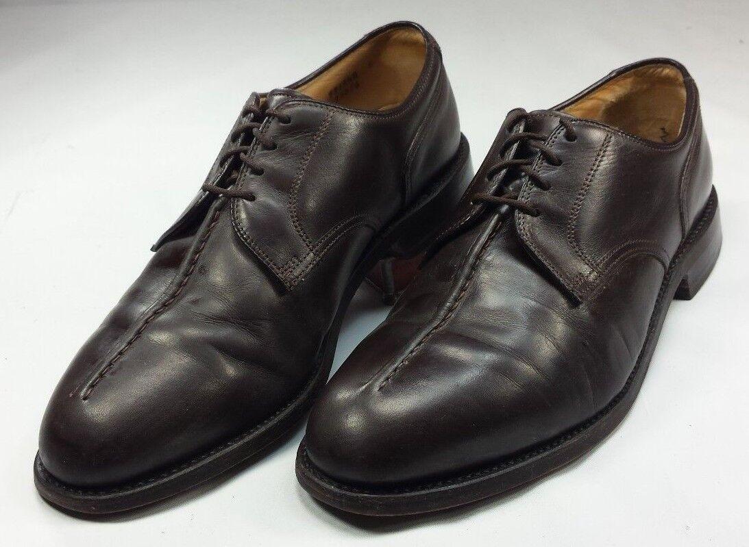 FootJoy Classics Men's Dress Oxford Shoes Brown Leather USA EUC! Size 9 ½ D