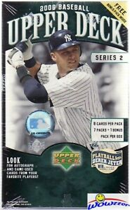 2006-Upper-Deck-Series-2-Baseball-EXCLUSIVE-HUGE-Factory-Sealed-Blaster-Box