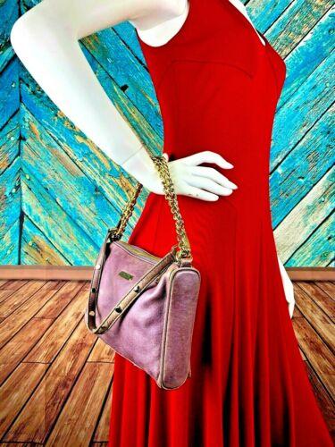 Rebecca Minkoff Small Leather Multi Zip Distressed