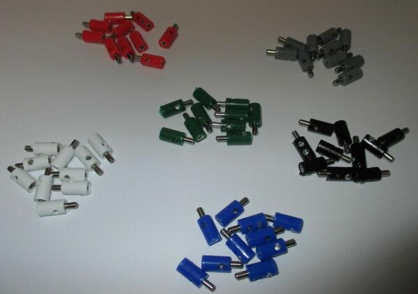 (pièce 19,9 Ct) 60 Pièces - Connecteur 2,6mm Avec Trou Transversal - Trié Utilisation Durable