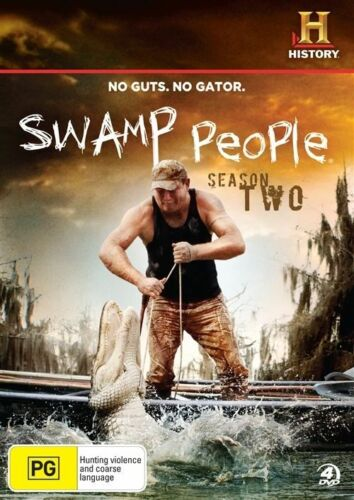 1 of 1 - Swamp People : Season 2 (DVD, 2012, 4-Disc Set)