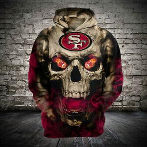 San-Francisco-49ers-Hoodie-Football-Hooded-Sweatshirt-Sports-Jacket-Fan-039-s-Gift