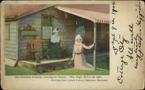 Siasconset-Nantucket-MA-Miss-Henrietta-Crossman-c1900-Postcard