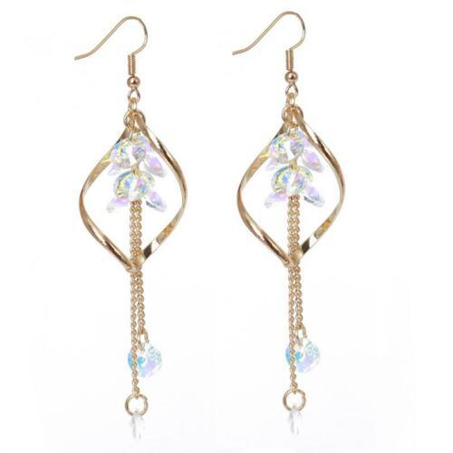 Womens Earrings Long Tassel Dangle Drop Hook Fashion Jewellery Ear Gift T