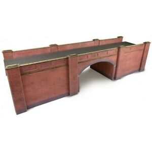 Metcalfe-Brick-Style-Railway-Bridge-OO-Gauge-Card-Kit-PO246
