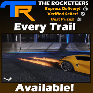 Details about [PC STEAM] Rocket League Every Rocket Trail ( Binary  Discotheque Lightning etc )