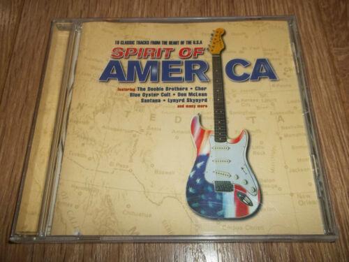 1 of 1 - VARIOUS ARTISTS - SPIRIT OF AMERICA - CD ALBUM - UK FREEPOST