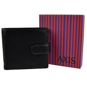 Mens-Quality-Leather-Wallet-by-Mala-AXIS-Collection-Gift-Boxed-Stylish-Black