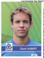 088 DAVID HUBERT BELGIQUE KRC.GENK STICKER FOOTBALL 2012 PANINI