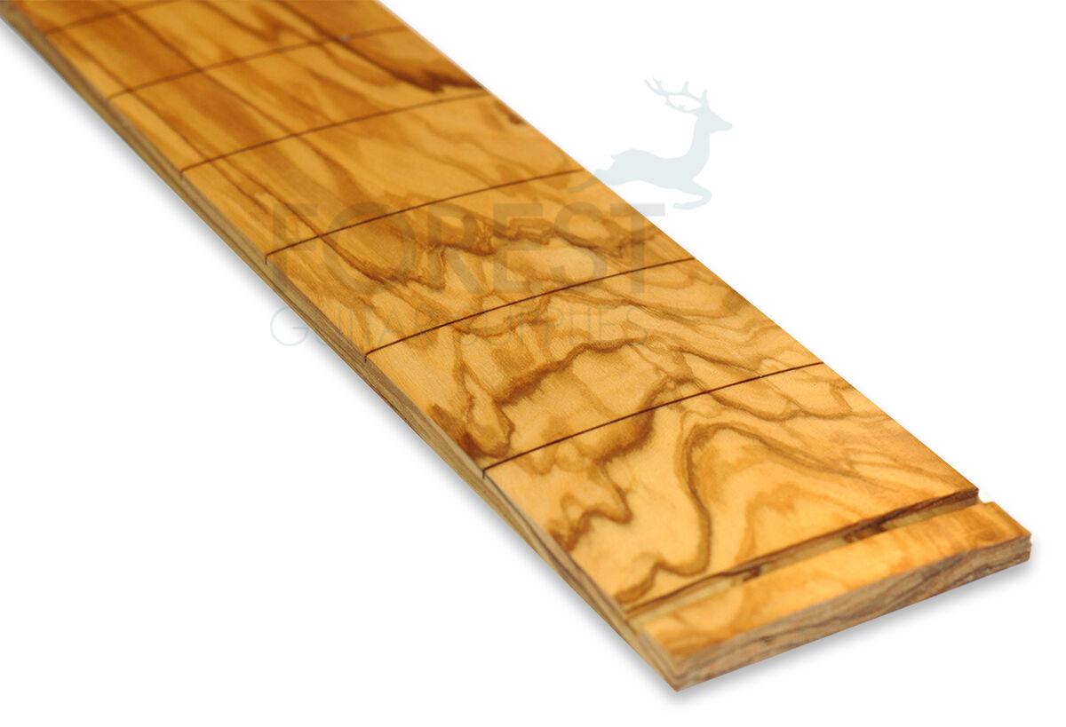 Olive Wood Guitar Fretboard, Fingerboard 25.5   Fender R 9.5   Vintage Style
