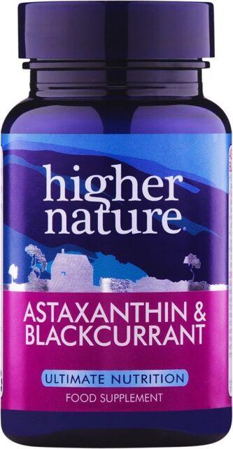 Higher Nature Astaxanthin & Blackcurrant 90 caps
